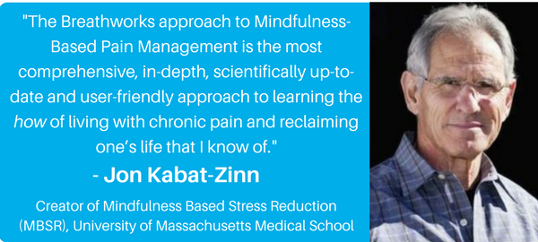 Jon Kabat-Zinn Breathworks Endorsement Quote