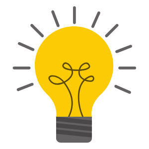 Lightbulb icon - Mindfulness in the workplace introductory sessions