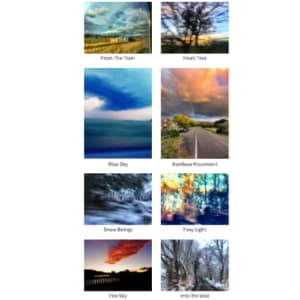 Vidyamala's Photography Greetings Cards - Fundraising for The Breathworks Foundation