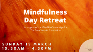 GIVE2LIVE Day Retreats