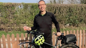 Breathworks Founder On Cycling for Charity at 70